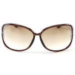 Tom Ford TF76 Raquel Brown Gradient Lens Sunglasses
