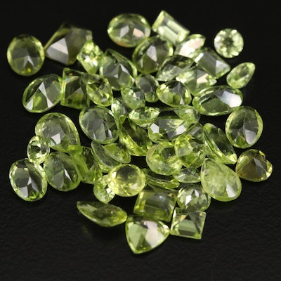 Loose 26.22 CTW Faceted Peridots