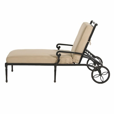 Frontgate Iron Reclining Patio Chaise