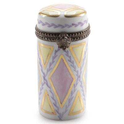 Rochard Hand-Painted Porcelain Limoges Box