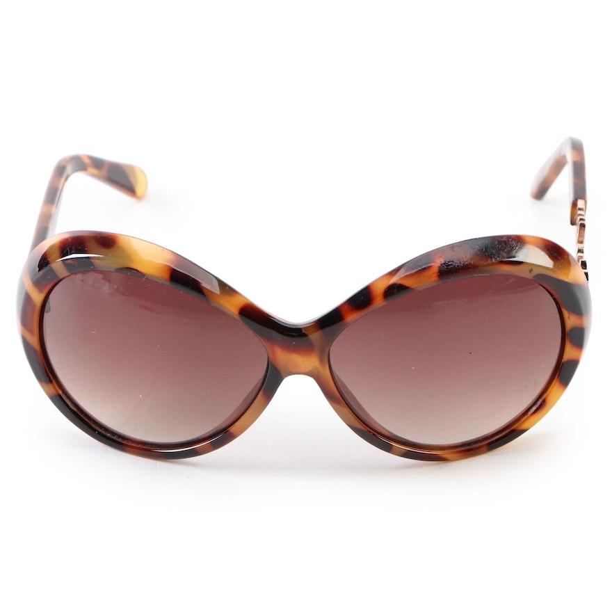 Moschino MO51902 Signature Logo Sunglasses in Tortoise