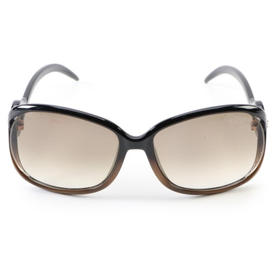 Roberto Cavalli Black/Brown Ombré Sunglasses