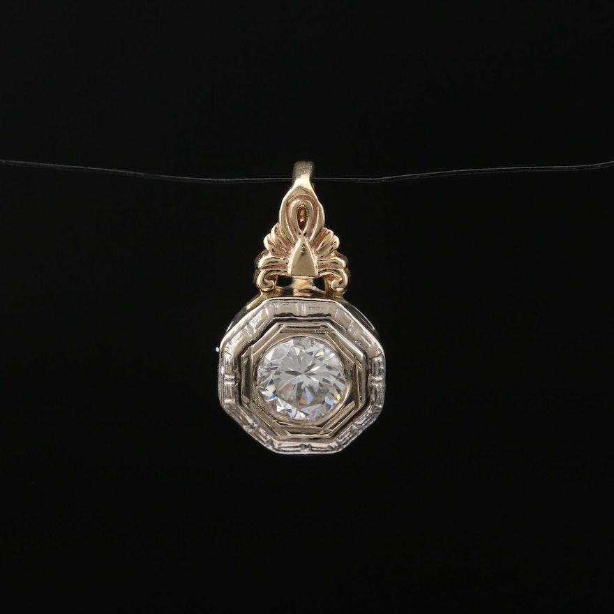 14 Diamond Pendant