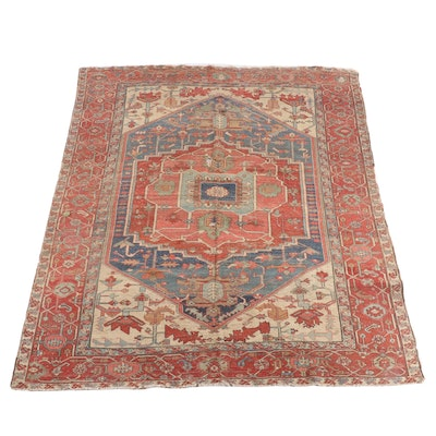 8'3.5 x 10'6 Hand-Knotted Afghani Khiva Wool Rug