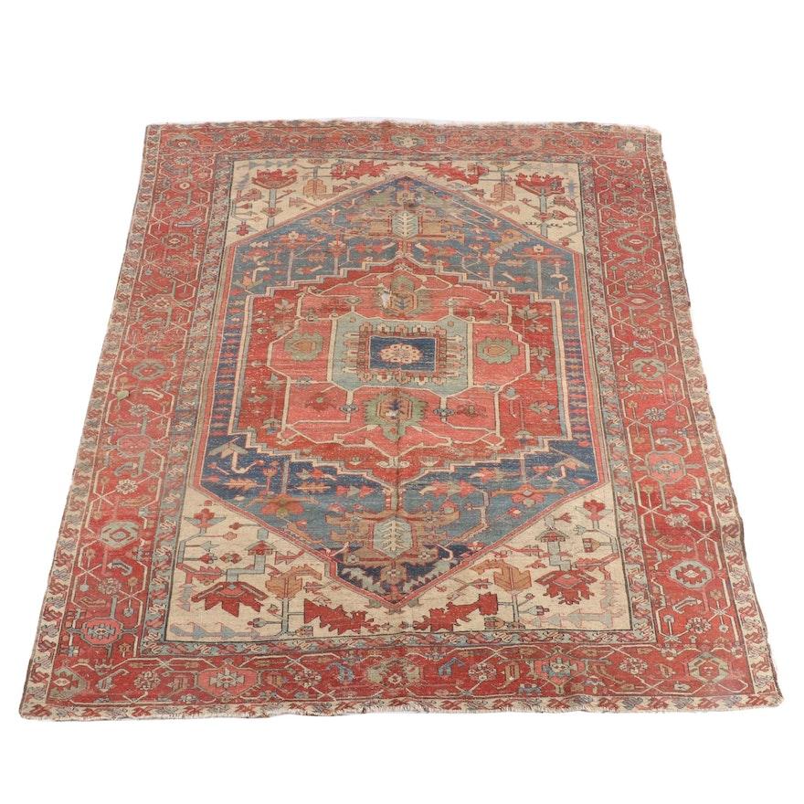 8'3.5 x 10'6 Hand-Knotted Afghani Khiva Wool Rug