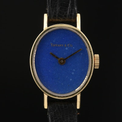 Vintage Tiffany & Co. by Chopard 18K Gold Stem Wind Wristwatch