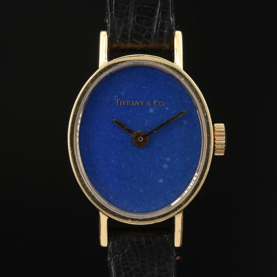 Vintage Tiffany & Co. by Chopard 18K Gold Stem Wind Wristwatch