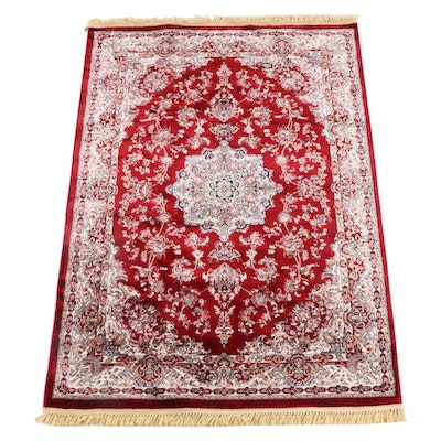 5'2 x 8'0 Machine Made Turkish Palace Area Rug
