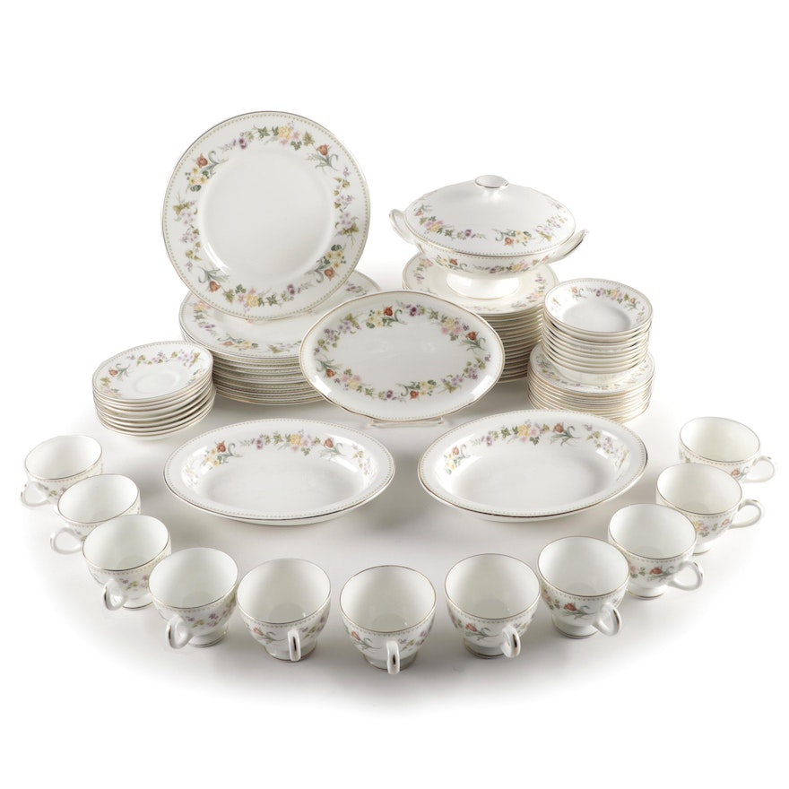 "Wedgwood ""Mirabelle"" Bone China Dinnerware and Serveware, 1976–1998"