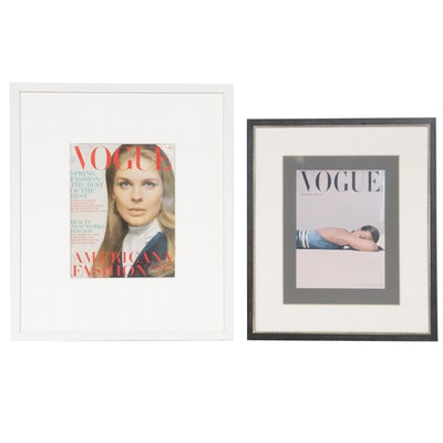 Vogue Magazine Covers, 1947 & 1969