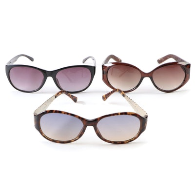 Pierre Cardin, Nine West and Other Black, Brown and Faux Tortoise Sunglasses