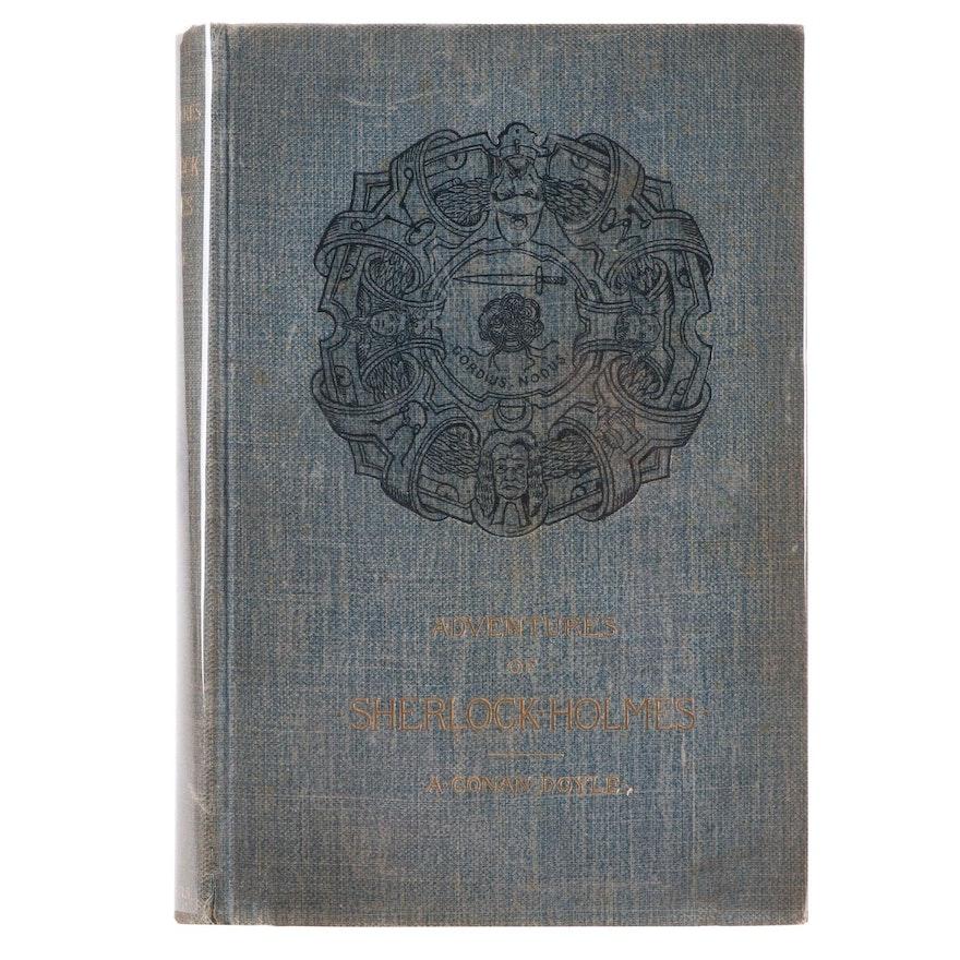 "First American Printing ""Adventures of Sherlock Holmes"" by Arthur Conan Doyle"