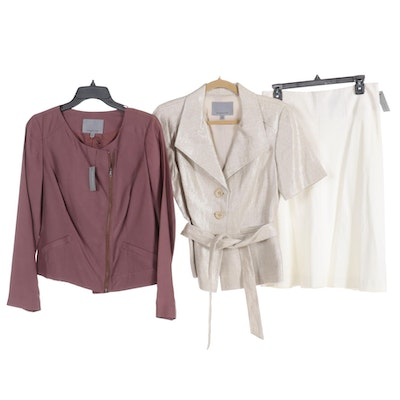 Classiques Entier Jackets and Skirt
