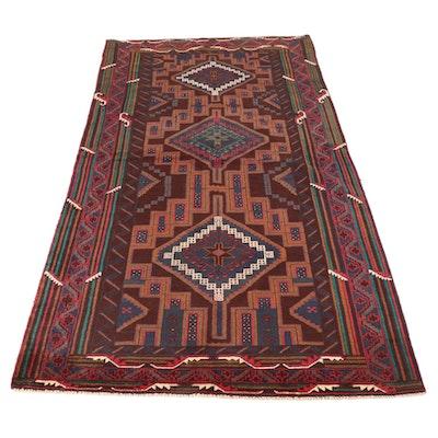 4'1 x 8'3 Persian Balouch Rug, circa 2000
