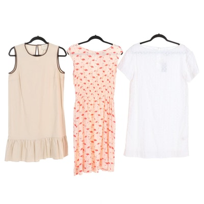 Kate Spade New York Casual Dresses Including Flamingo Print and Eyelet Fabric