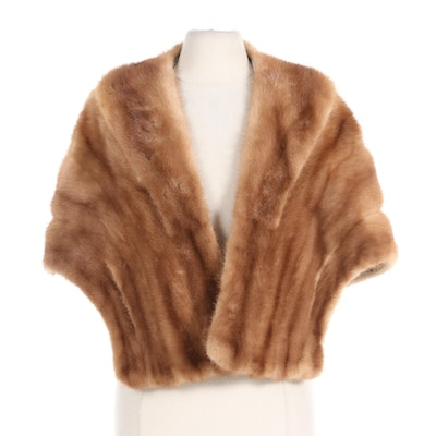 David Adler Mink Fur Stole