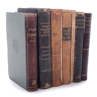 Reading, Math, and Science Books, Mid to Late 19th Century