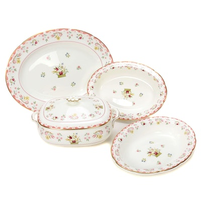 "Wedgwood ""Bianca"" Williamsburg Collection Bone China Serveware, 1973–1997"