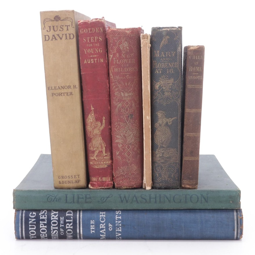 Educational Books and Novels for Children, Mid/Late 19th to Early 20th Century