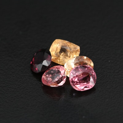 Loose 5.73 CTW Faceted Spinels