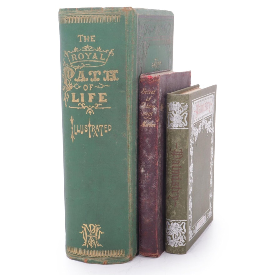 """The Royal Path of Life,"" ""Secret of Achievement"" and ""Palmistry,"" 19th Century"