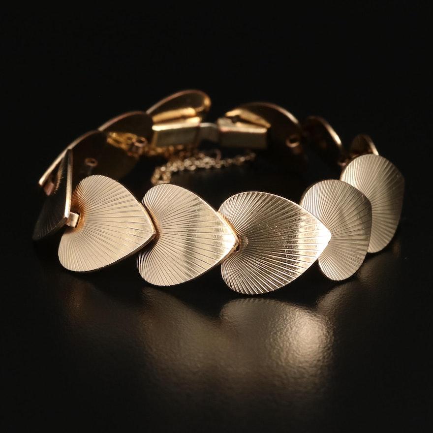 Lightray Disc Link Bracelet