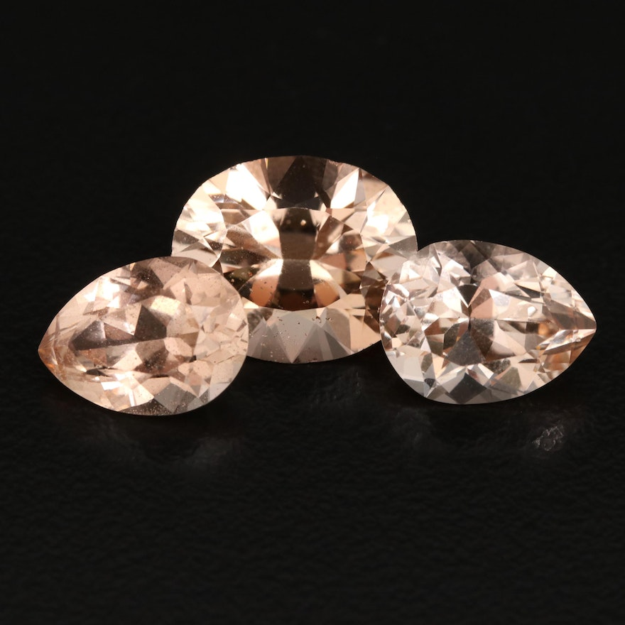 Loose 17.31 CTW Faceted Topaz