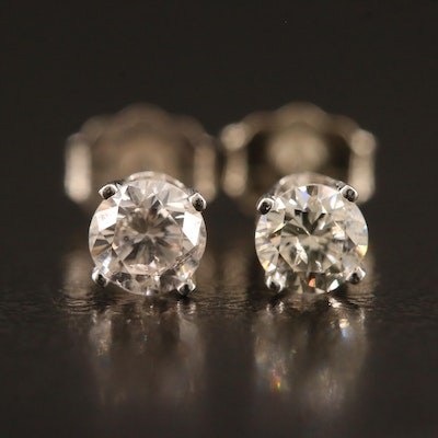 14K 0.43 CTW Diamond Stud Earrings