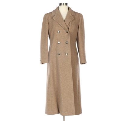 Regency Cashmere Double-Breasted Cashmere Coat from Sincerely Gidding Jenny