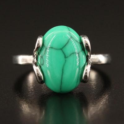 Imitation Turquoise Ring