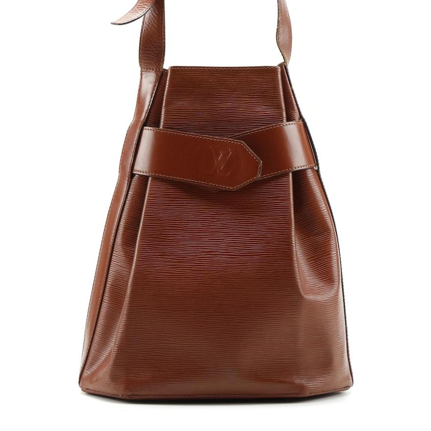 Louis Vuitton Epi Leather Sac D'Epaule Bag in Kenyan Fawn