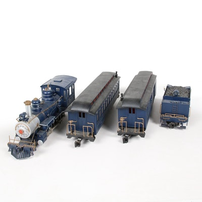 Royal Blue Line Train Set