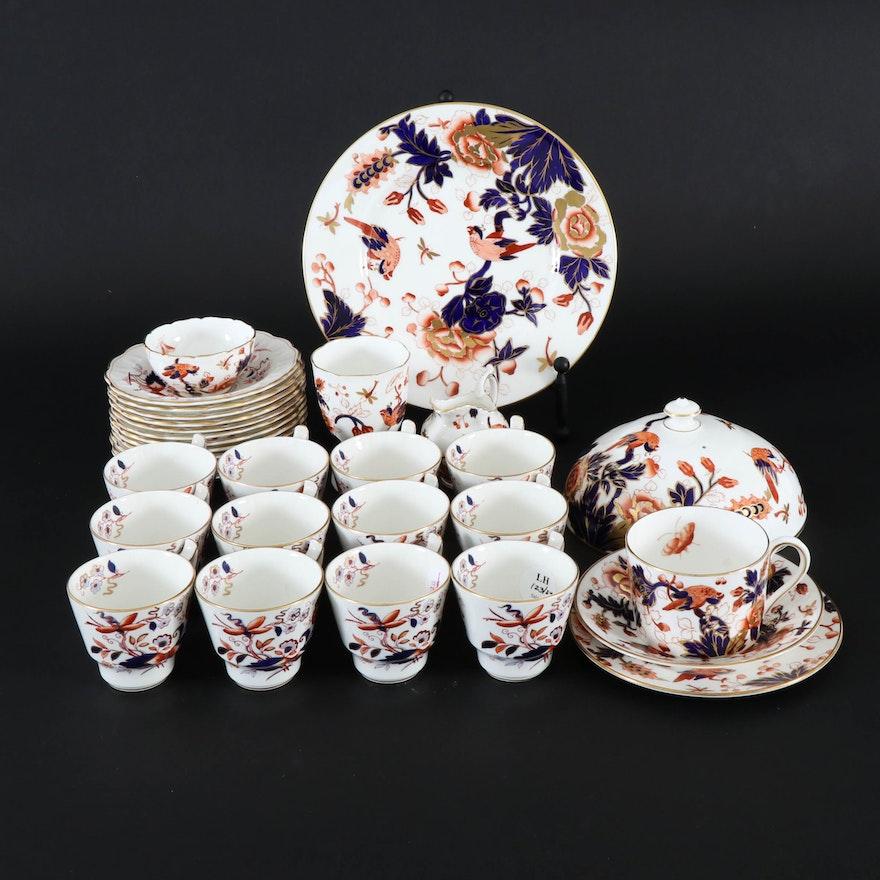 "English Booths ""Fresian"" and Coalport ""Hong Kong"" Tableware, 20th Century"