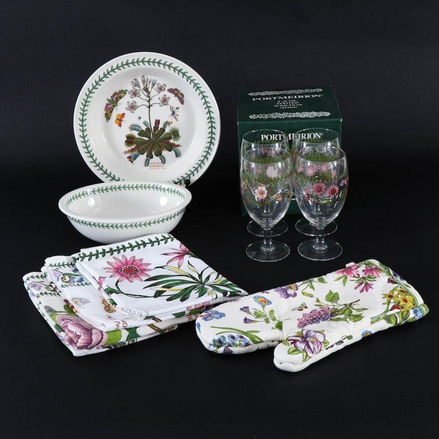 "Portmeirion ""The Botanic Garden"" Tableware and Linens"