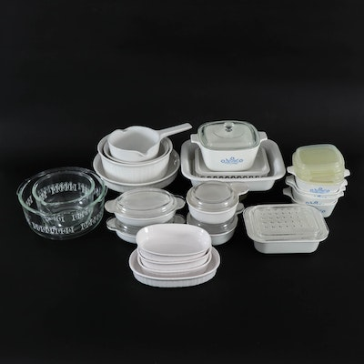 CorningWare and Other Bakeware and Mixing Bowls, Vintage