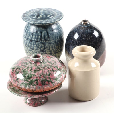 Buchan & Portobello Stoneware Vessel and Other Ceramic Décor
