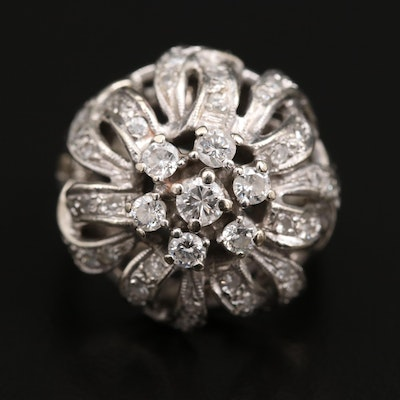 Vintage Diamond Dome Ring
