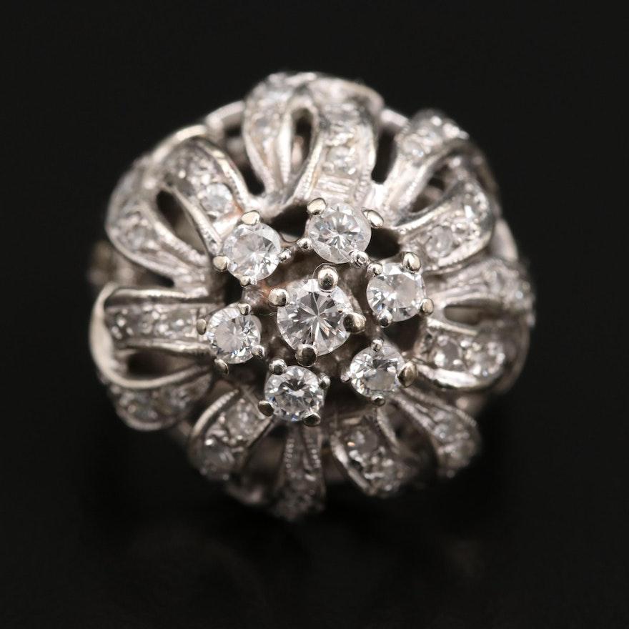 Vintage Diamond Dome Ring