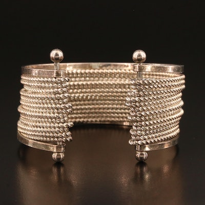 Mexican Sterling Silver Cuff