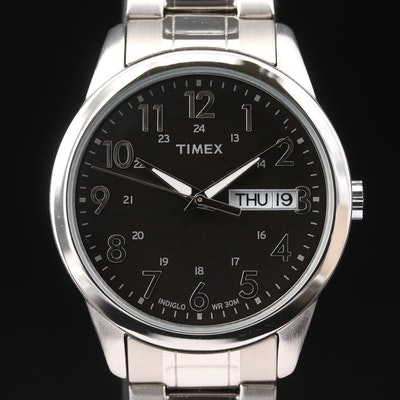 Timex Day-Date Quartz Wristwatch