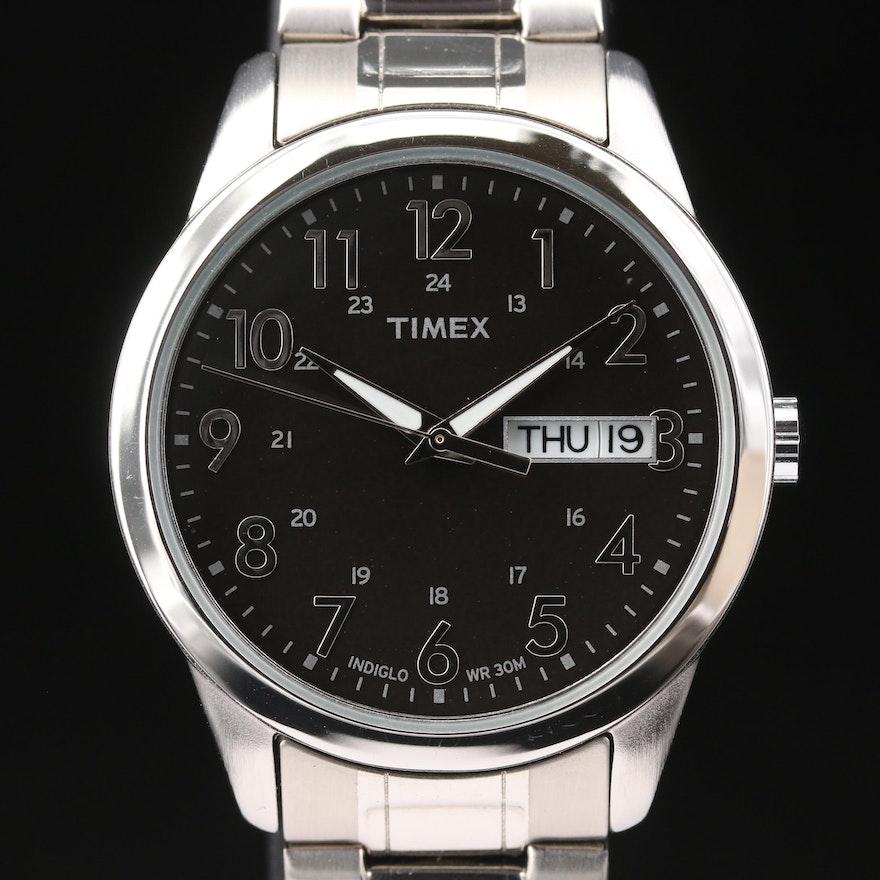 Timex Day-Date Quartz Wristwatch