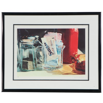 "Ralph Goings Offset Lithograph ""Sugar,"" Late 20th Century"
