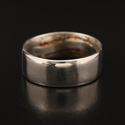 900 Silver Converted Coin Ring