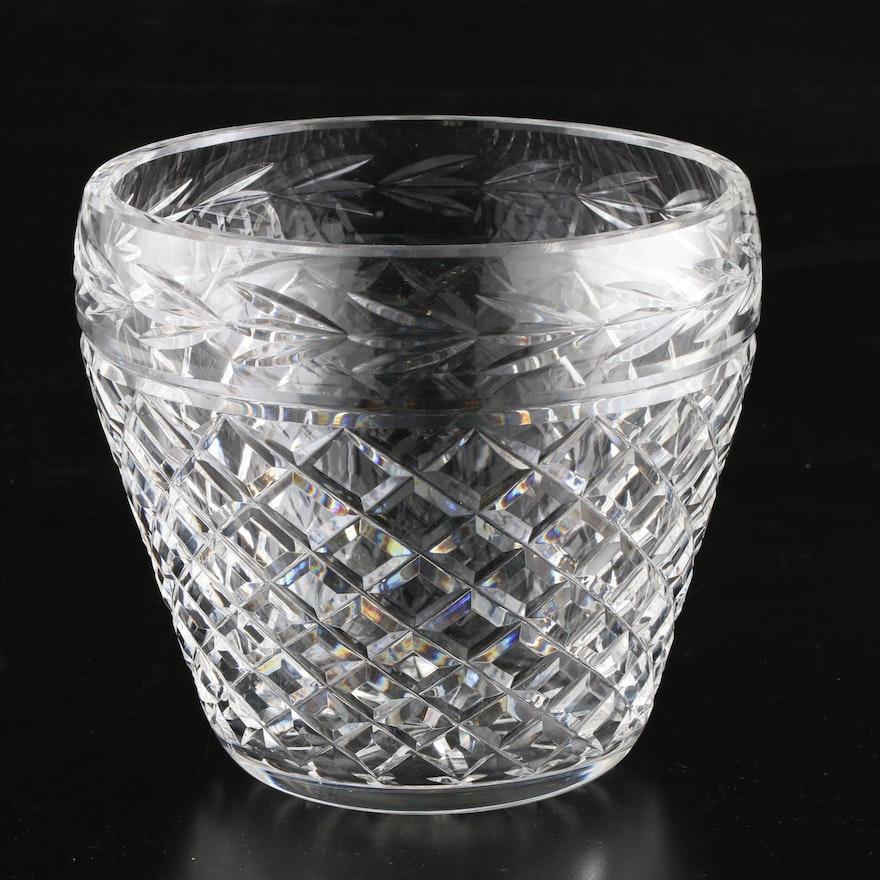 """Waterford Crystal """"Glandore"""" Ice Bucket"""