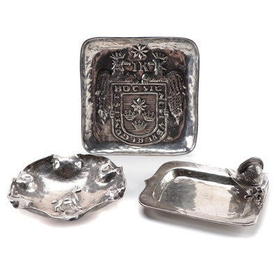 Peruvian Sterling Silver Decorative Trays