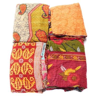 Indian Handmade Kantha Quilts