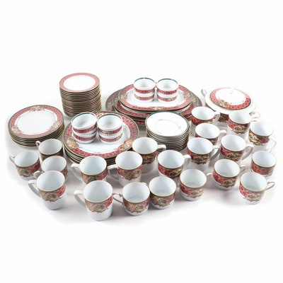 """Noritake """"Royal Hunt"""" Porcelain Dinnerware, 1990–2005"""