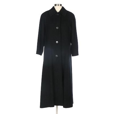 Black Cashmere Coat from Neiman-Marcus