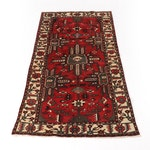 5'6 x 10'1 Hand-Knotted Persian Bakhtiari Rug, 1970s
