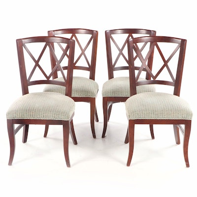 "Set of Fairfield ""Portsmouth"" Upholstered Side Chairs, Contemporary"
